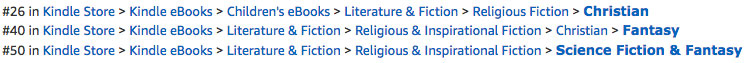 Foundlings Ratings on Amazon