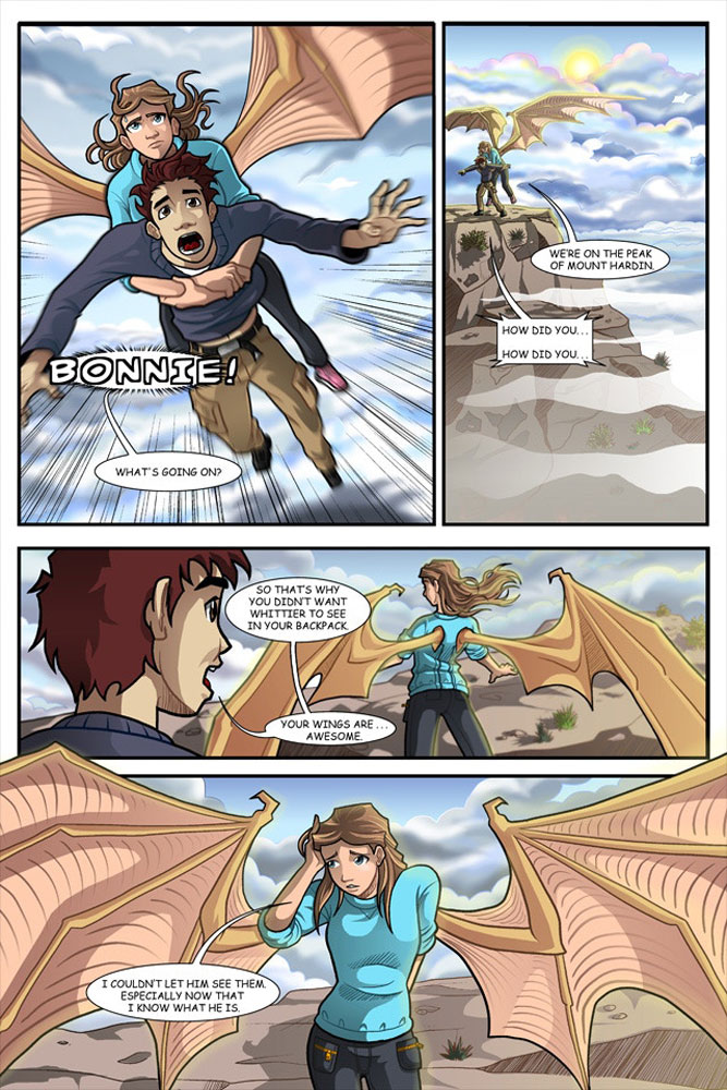 Raising Dragons - a page from the graphic novel