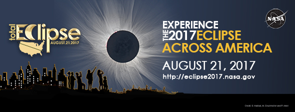 NASA 2017 eclipse banner