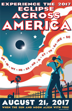 NASA 2017 Eclipse Across America Poster